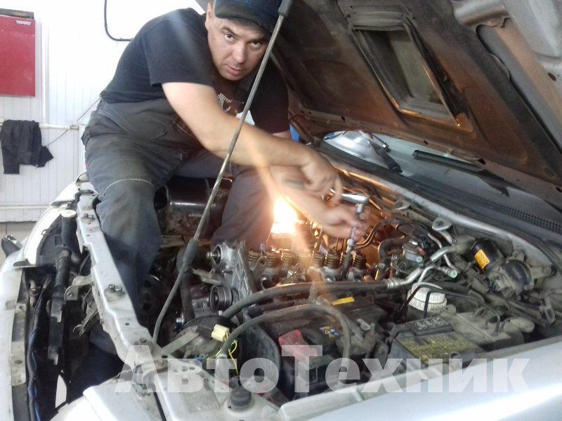 Ремонт двигателя на мицубиси
