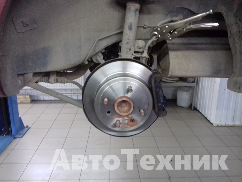 Ремонт тормозной системы Chevrolet Lacetti