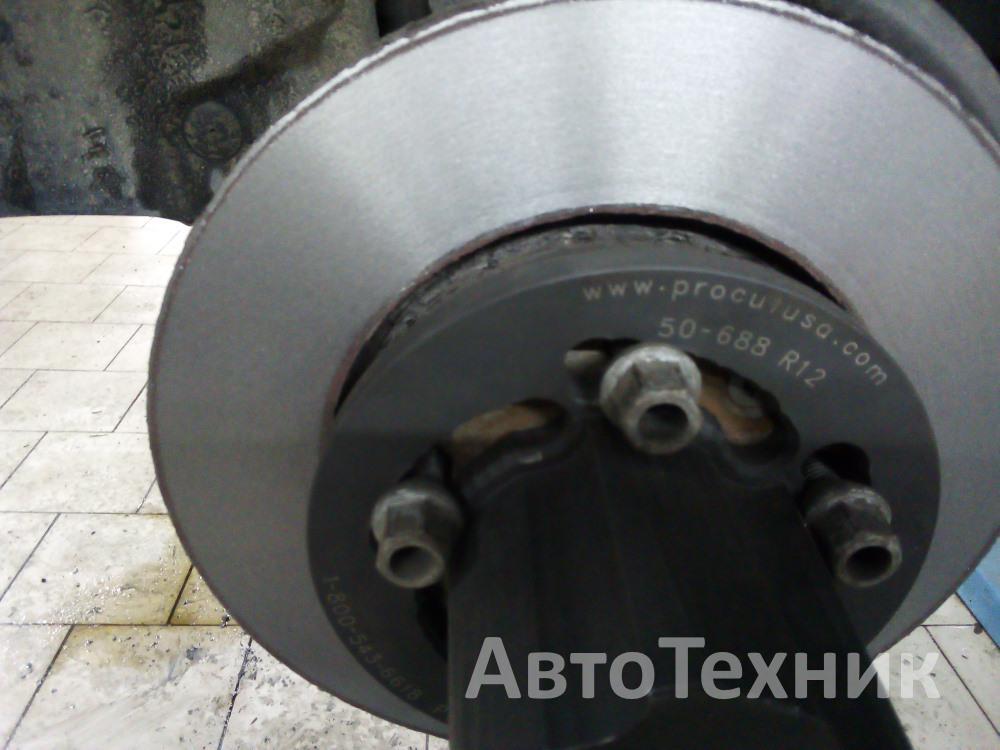 тормозной диск после расточки